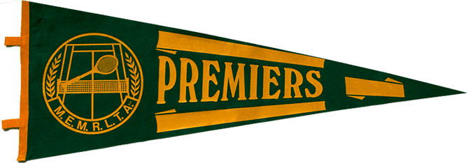 tennis finals winner's pennant